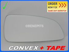 Wing Mirror Glass OPEL ASTRA H MK5 2004-2008 CONVEX + TAPE Right Side #F019 18