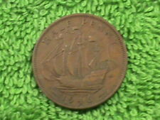 GREAT BRITAIN 1/2 Penny 1946 XF