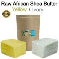 Raw African Shea Butter 100% PREMIUM Organic Unrefined Pure Natural Ghana BULK