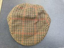 2ab8528c996 Failsworth Tweed Cap Norwich 7 1 2 61cm XL 111Tweed