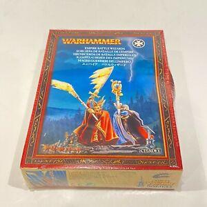 Warhammer Empire Battle Wizards Fantasy Battle Citadel Miniatures