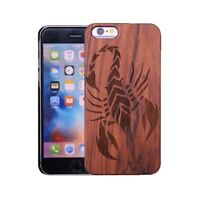 Natural Wooden Wood Bamboo Case for  iPhone X/10/8/5/5c/SE/6/6s/7/Plus/XR/XSMAX