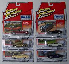 Johnny Lightning 1:64 Mopar or No Car - Release 5  Complete 6-Car Set