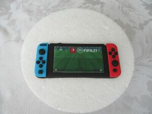 Edible Handmade Nintendo Switch Controller Fifa21 Fondant Gaming Cake Topper