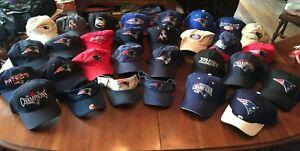 NFL New England Patriots Lot of 30 Caps/Hats
