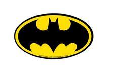 15771 Batman Black Yellow Bat Shield Logo Comic Book Superhero Sticker / Decal