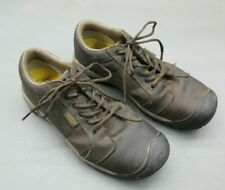 Keen Size 11.5 Mens Brown Leather Lace Waterproof Hiking/Fishing/Working Shoes1B