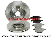 FORD FOCUS C-MAX 1.6 1.8 2.0 TDCi 300mm FRONT BRAKE DISCS AND BRAKE PADS SET