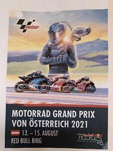 2x Tickets Moto GP Sonntag 15.08.2021 In Spielberg-Österreich zu verkaufen