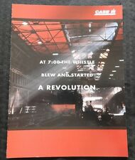 """1998 CASE IH """"RED POWER"""" CX & MX TRACTOR BROCHURE VERY NICE SHAPE"""