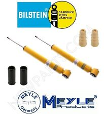 NEW Audi A4 Quattro S4 Rear Shocks & Bellows and Bumpers KIT Bilstein B8 / Meyle