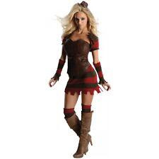 Freddy Corset Dress Costume Nightmare on Elm Street Halloween Fancy Dress