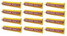 12 Tubes SIMICHROME Metal Polish Paste 1.76 oz Tube 390050