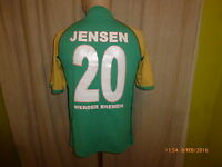 "Werder Bremen Original Kappa Heim Trikot 2004/05  ""KIK"" + Nr.20 Jensen Gr.M"