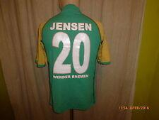 Werder Bremen Original Kappa Heim Trikot 2004/05 + Nr.20 Jensen Gr.M