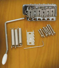 Wilkinson WVP6 SB Tremolo for Fender Strat w Massive  Steel Block Chrome