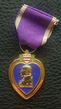QUALITY COMMEMORATIVE USA US AMERICAN PURPLE HEART MILITARY MERIT MEDAL