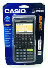 Casio fx-9750GIII Graphing Calculator Python Black Box Dmg