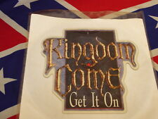 KINGDOM COME - get it on  PICTURE SHAPE  1988