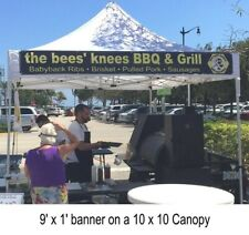 Canopy Banner Posts – (24 inches long) Hang a banner on the front of your Canopy