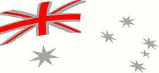Aussie Pride Australia Flag Car, Ute, Boat, Truck, Sticker Decal Set 700 x 322mm