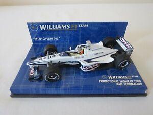 RALF SCHUMACHER Promotional Showcar 2000 Williams F1 Team Minichamps 1:43