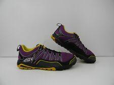 Inov8 Women 10.5  Men 9 Trail Running Shoes TrailRoc 246 Purple Yellow Black