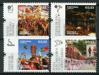 Portugal Religion Stamps 2020 MNH Festivals & Pilgrimages Places of Faith 4v Set