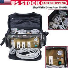 Portable Dental Treatment Unit Backpackair Compressor Suction System 3 Syringe
