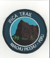 Machu Picchu Peru Souvenir Patch Inca Trail