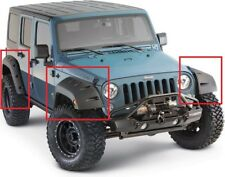 JEEP WRANGLER JK WHEEL ARCH - FENDER FLARES EXTENSIONS BUSHWACKER LOOK NEW