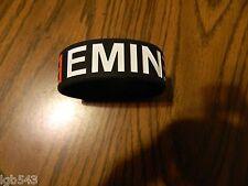 New-  Eminem logo Rubber Wristband Bracelet / one piece slip on style