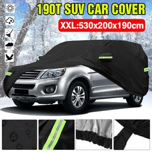 SUV Full Car Cover Waterproof Universal UV Rain Dust Resistant Outdoor XXL