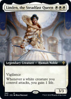 Linden, the Steadfast Queen - Foil - Extended Art x1 Magic the Gathering 1x Thro