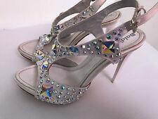 BALDININI scarpe donna SANDALO gioiello con swarowski  tg. 35 sconto 60%