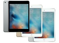 Apple iPad mini 4, 4th Generation 16GB 32GB 64GB 128GB Wi-Fi + 4G Cellular 7.9in