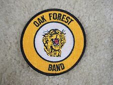 OAK FOREST BAND PATCH--007