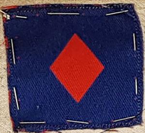 Original WW2 61st Division Cloth Formation Shoulder Patch FREE UK P&P