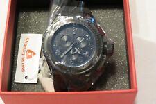 New Swiss Legend Men's Trimix Diver Chronograph Watch-200 meter water resistance
