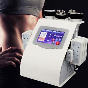 40K 6IN1 Ultraschallkavitation Vacuum RF Lipolaser Body Slimming Machine Beauty