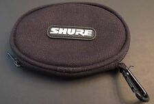 Shure OEM SE215 SE315 SE425 SE535 Carrying Case Pouch  - Excellent!!