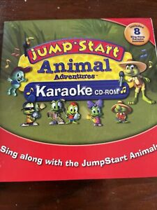 Jump Start Animal Adventures Karaoke CD ROM for Windows or Mac - 1st Grade