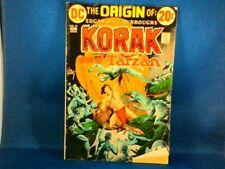 COMIC BOOKS Korak Son Of Tarzan December 1972 Volume 9 No 49 Issue