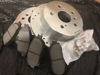 PAIR OF 2 PREMIUM REAR DISC BRAKE ROTORS NEW SET KIT fits LEFT AND RIGHT SIDE