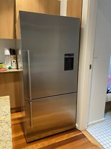 Fisher and Paykel Stainless Steel Bottom Mount Fridge
