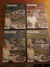 Filleting Instructional Series Freshwater, Shellfish, Saltwater 1 & 2 SEALED