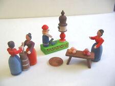 Nr.789 Bodo Hennig 3x Holzfiguren -- Puppenstuben Puppenmöbel Puppenhaus zubehör