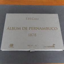 Album de Pernambuco 1878 Récife Brésil F H . CARLS Paulo Bruscky