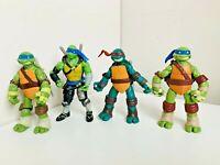 TMNT Teenage Mutant Ninja Turtles Action Figures Bundle Raphael Leonardo Toys