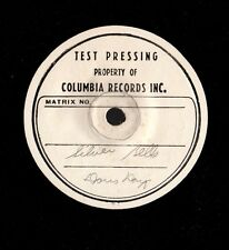 "DAY, Doris. Silver Bells.  7"" 33 vinyl test pressing on 10.5"" disc.c. 1949.  M-"